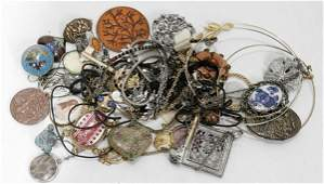040547 COSTUME JEWELRY NECKLACES APPROX 35 PCS