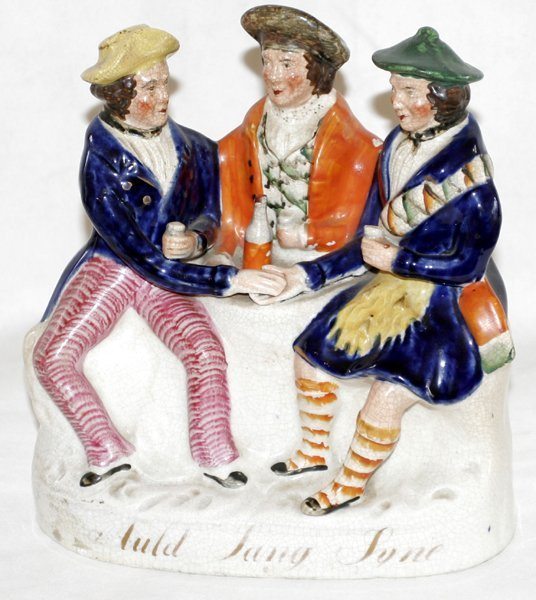 041011: STAFFORDSHIRE POTTERY GROUP, 'AULD LANG SYNE'