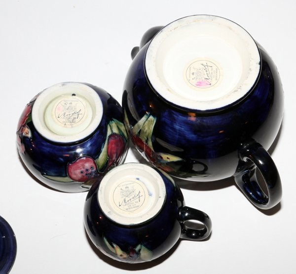 MOORCROFT ORCHID POTTERY - 2