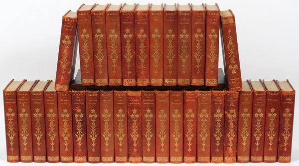 HONORE DE BALZAC BOOKS #19/500 33 VOLUMES
