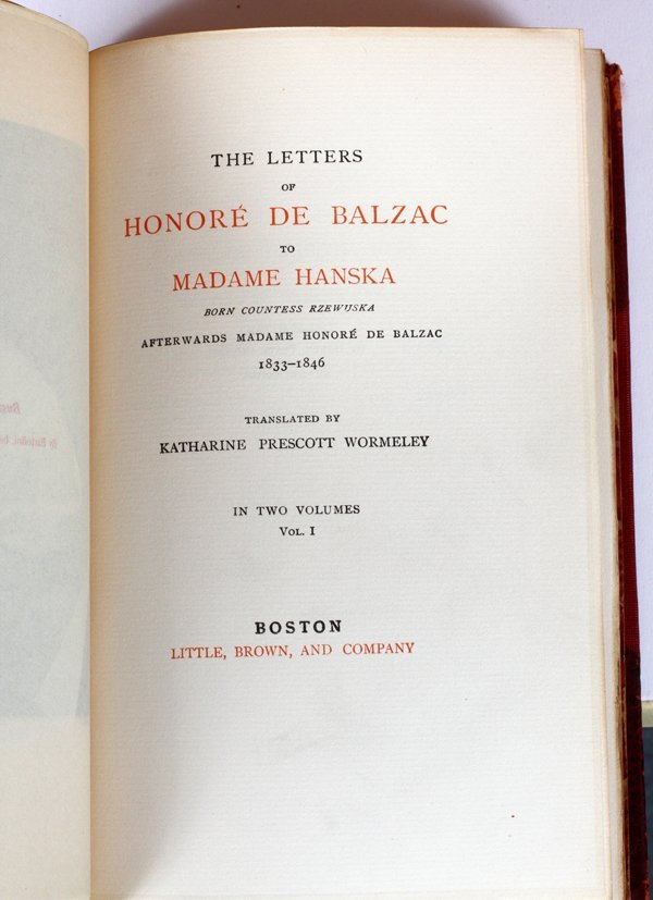 HONORE DE BALZAC BOOKS #19/500 33 VOLUMES - 3