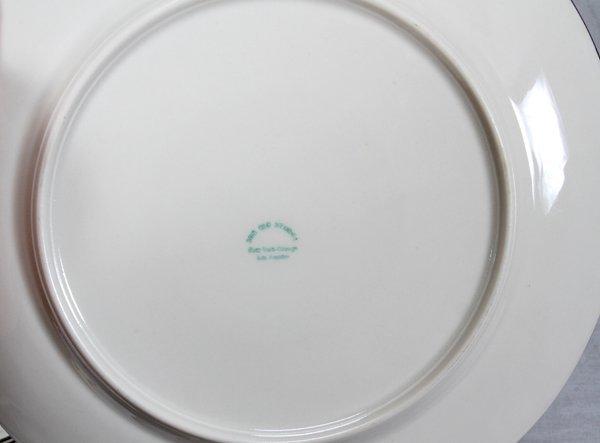 LYNN BOGUE HUNT WILD FOWL DINNER PLATES 6 PCS. - 2