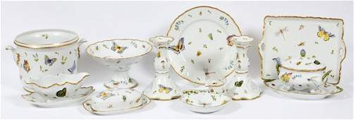 ANNA WEATHERLEY PORCELAIN SERVING PIECES TABLEWARE