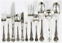 TOWLE 'FRENCH PROVINCIAL' STERLING FLATWARE SET