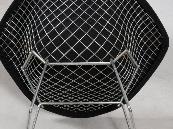 HARRY BERTOIA FOR KNOLL DIAMOND CHAIRS MID 20TH C. - 4