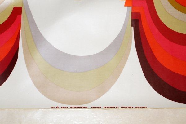 FRANCISCA REICHARDT FOR KNOLL VINYL WALL PANEL - 2