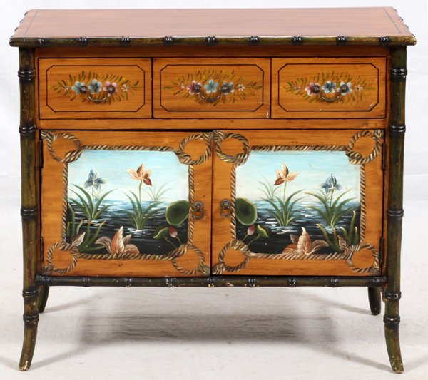 HAND DECORATED CHEST