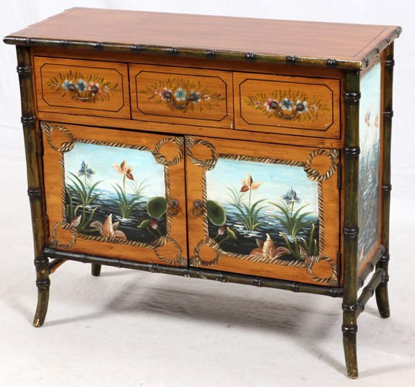 HAND DECORATED CHEST - 2