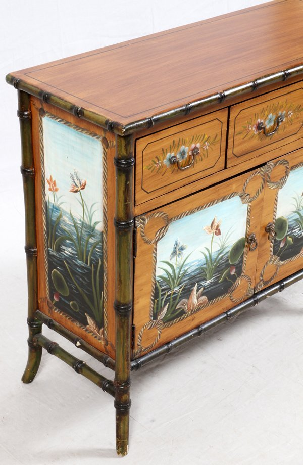 HAND DECORATED CHEST - 3