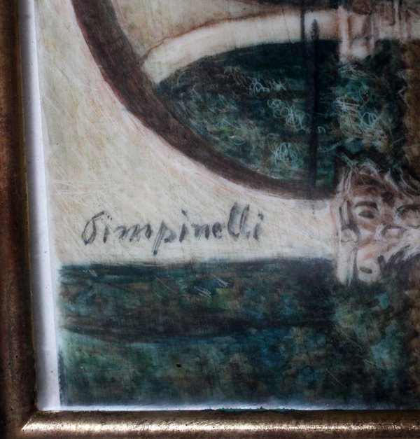 PIMPINELLI HAND-PAINTED MINIATURE LATE 19TH C. - 3