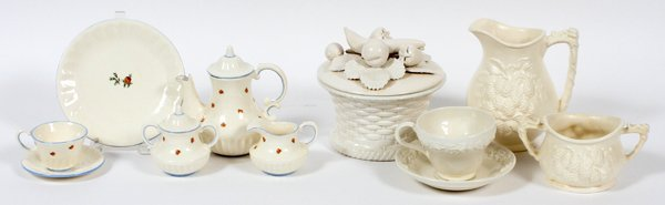 DODIE THAYER POTTERY 40 PIECES