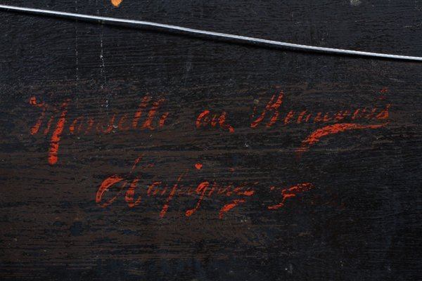 G. T. HAPTON OIL ON BEVELLED WOOD PANEL 1920 - 6