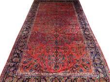 KASHAN PERSIAN VERY FINE CARPET C. 1890