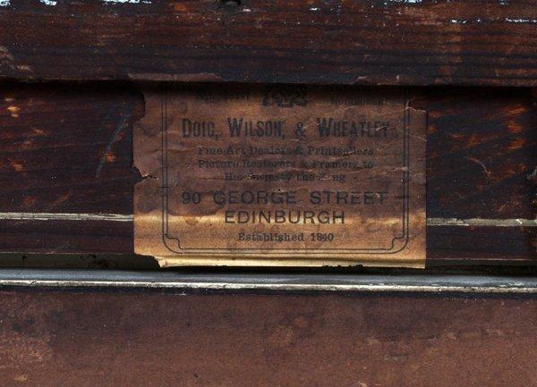 DAVID FARQUHARSON WATERCOLOR - 5