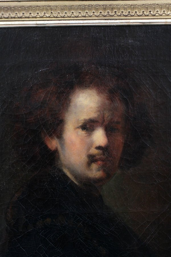 AFTER REMBRANDT OIL ON CANVAS C. LATE 19TH C. - 2