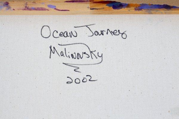LISE MALINOVSKY OIL ON CANVAS 2002 - 4