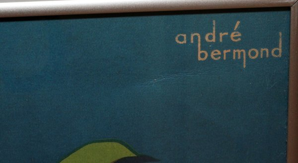 ANDRE BERMOND COLOR POSTER - 3