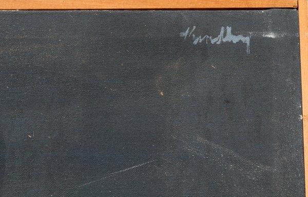 BRADLEY JONES OIL ON CANVAS 1968 - 3