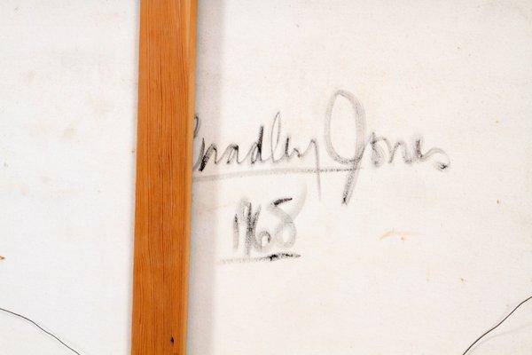 BRADLEY JONES OIL ON CANVAS 1968 - 5