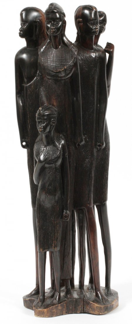 KENYA EBONY CARVED SCULPTURE