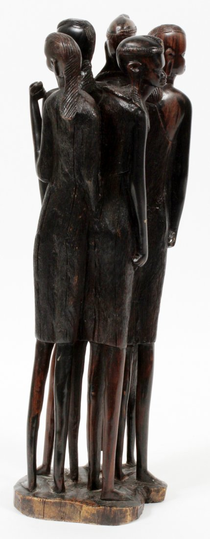 KENYA EBONY CARVED SCULPTURE - 2