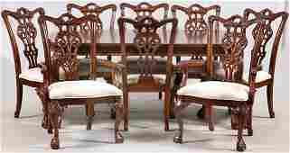 ETHAN ALLEN MAHOGANY DINING ROOM SET