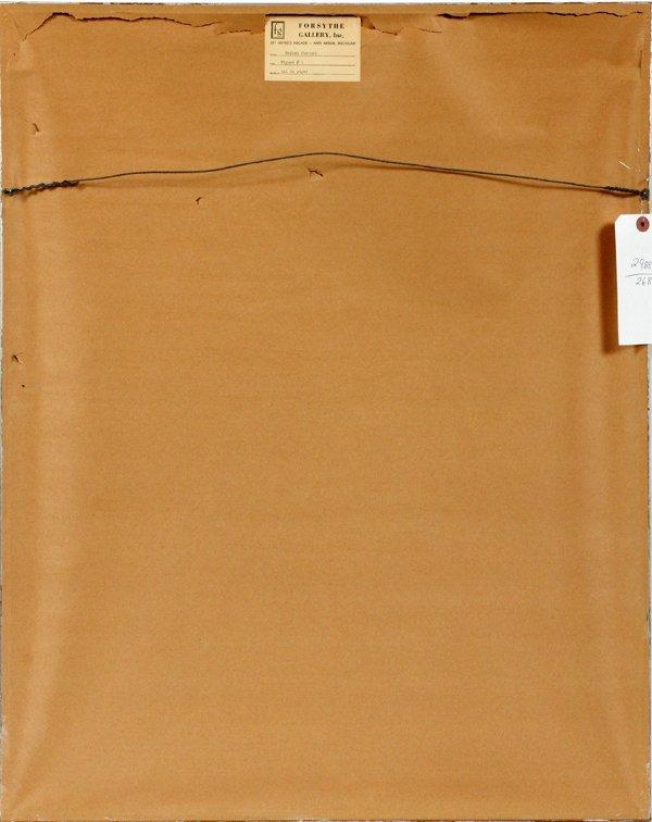 RAFAEL CORONEL PASTEL & PENCIL DRAWING ON PAPER - 4
