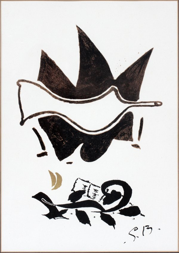 GEORGES BRAQUE LITHOGRAPH