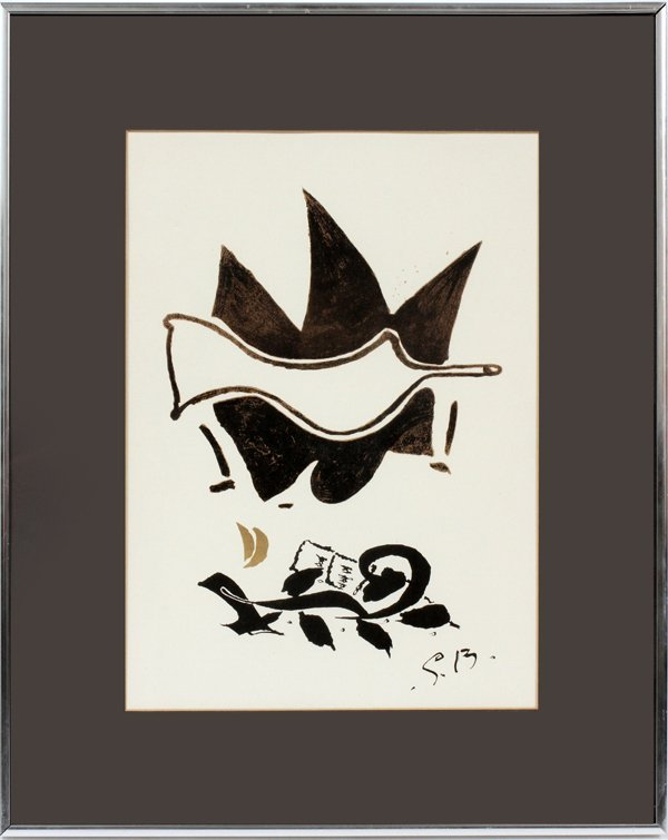 GEORGES BRAQUE LITHOGRAPH - 2