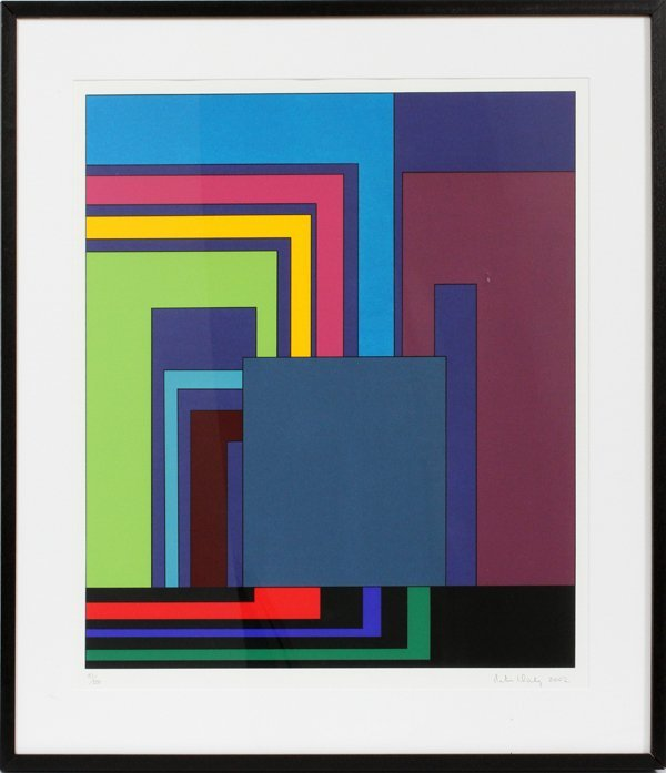 CONTEMPORARY COLOR SCREENPRINT 2002 IMAGE:
