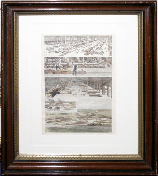 050013: LITHOGRAPH, DETROIT INDUSTRIES, C, 1889