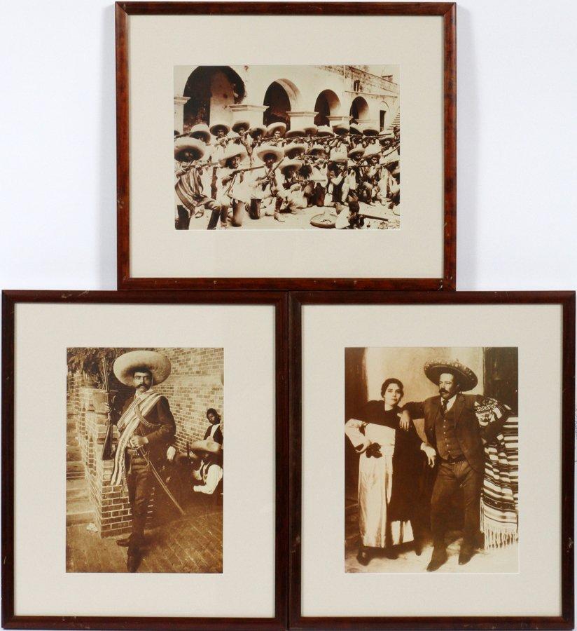 PONCHO VILLA 1912 MEXICAN REVOLUTION FOTOGRAFIA LOT