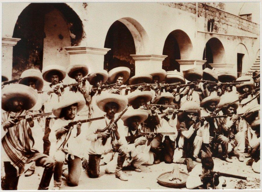 PONCHO VILLA 1912 MEXICAN REVOLUTION FOTOGRAFIA LOT - 2