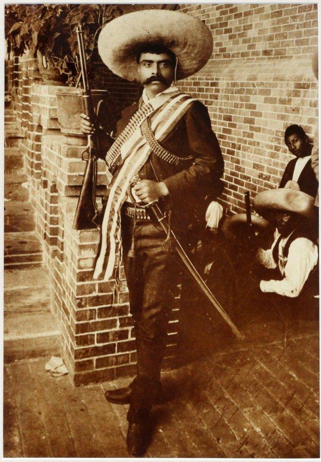 PONCHO VILLA 1912 MEXICAN REVOLUTION FOTOGRAFIA LOT - 3