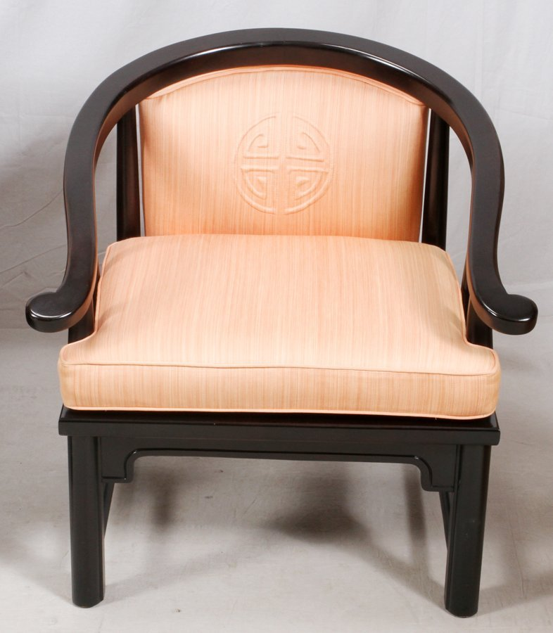 CHINESE TEAKWOOD SOFA AND ARMCHAIR - 3