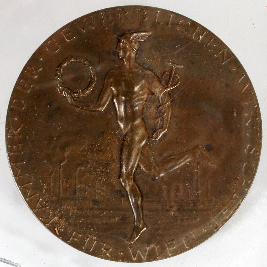 OKIENAUER SCULPTOR OLYMPIC BRONZE MEDAL 1971
