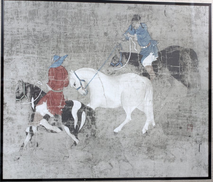 CHINESE WARRIORS PRINT - 2