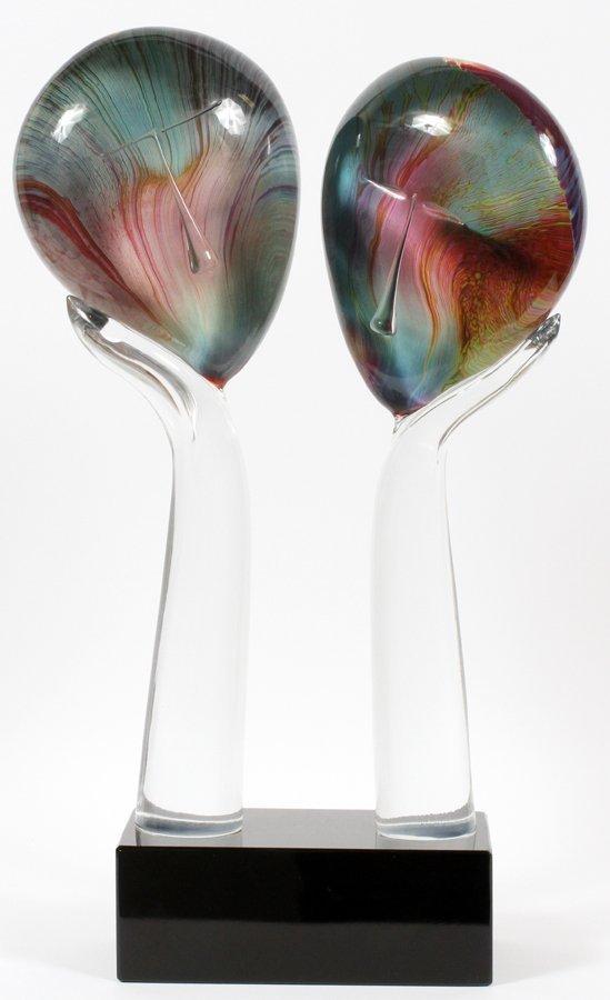 DINO ROSIN MURANO GLASS SCULPTURE