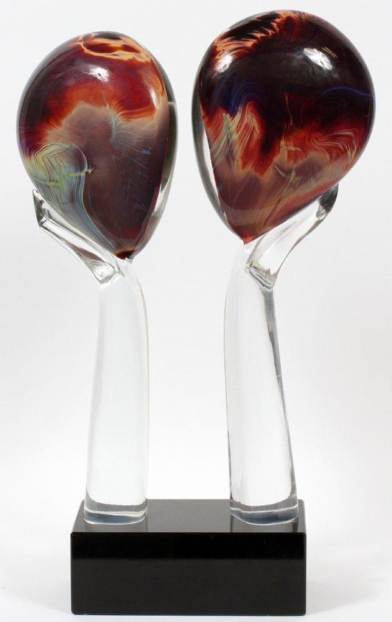DINO ROSIN MURANO GLASS SCULPTURE - 3