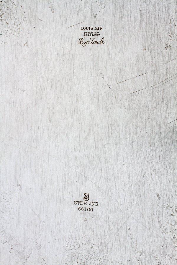TOWLE LOUIS XIV STERLING SILVER TRAY - 3