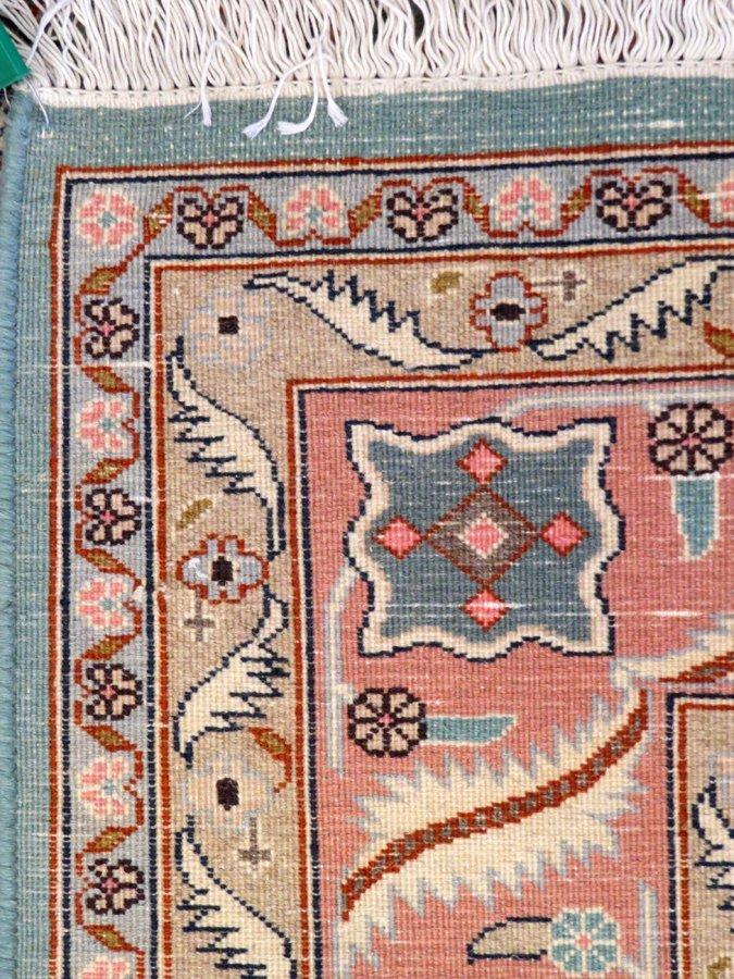 PERSIAN TABRIZ WOOL CARPET - 3