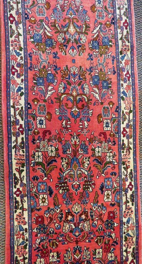 PERSIAN SAROUK WOOL CARPET ANTIQUE - 2