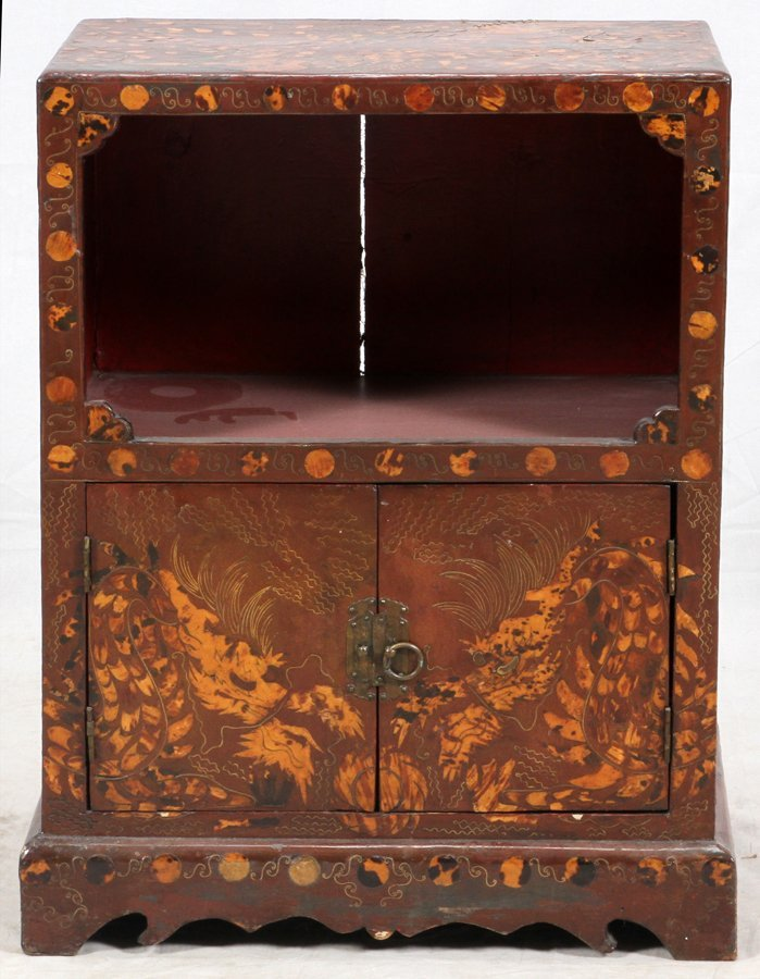 CHINOISERIE STYLE CHEST
