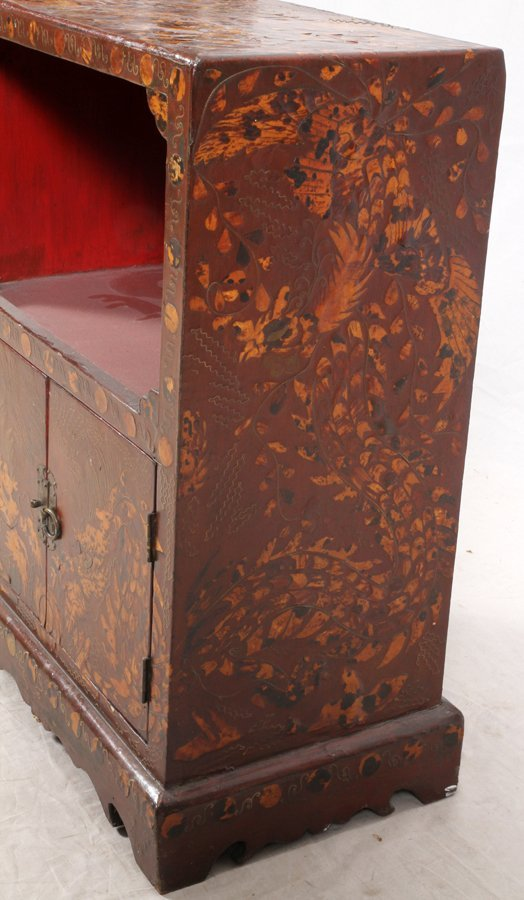 CHINOISERIE STYLE CHEST - 3