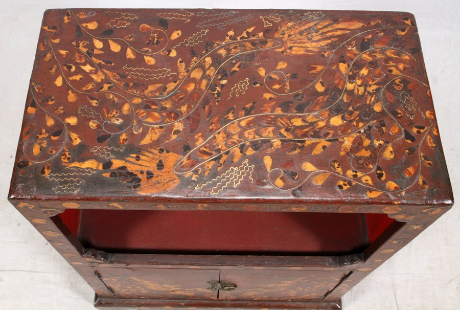 CHINOISERIE STYLE CHEST - 4