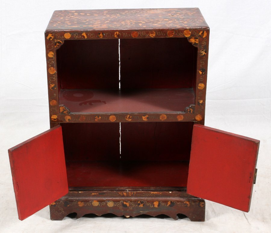 CHINOISERIE STYLE CHEST - 5