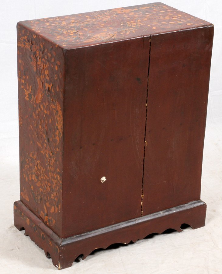 CHINOISERIE STYLE CHEST - 6