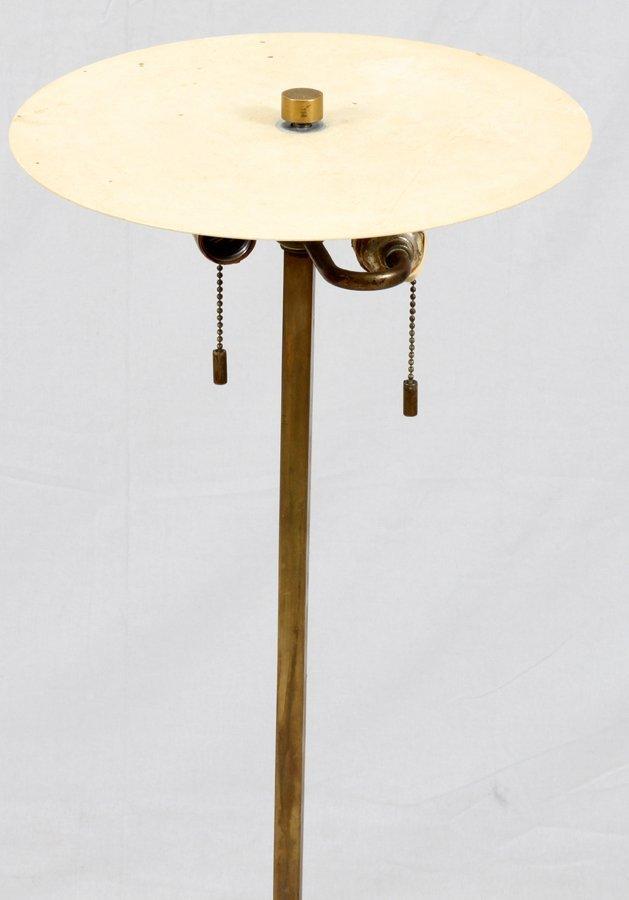 PAUL HANSEN BRASS FLOOR LAMP - 2