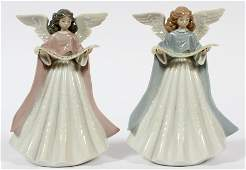 LLADRO PORCELAIN FIGURINES TWO