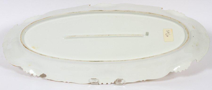 T & V LIMOGES FISH PLATTER CIRCA 1880 - 3